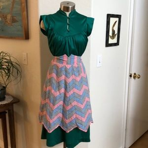 Bundle of 3 vintage aprons